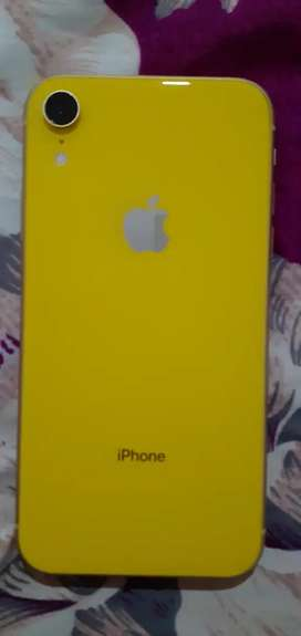 iphone Xr 64gb Yellow mint condition