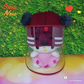 Topi Faceshield Bayi rajut