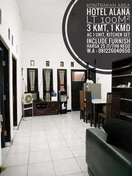 Kontrakan Include Furnish Area Hotel Alana Colomadu,Dekat UMS, MANAHAN