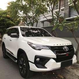 KM 5 RB Fortuner VRZ TRD 2018 Putih Asli Plat H  Nopol 3 Angka