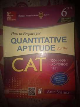 Only in 250 ARUN SHARMA for CAT examination