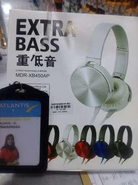 HEADPHONE BANDO SONY XB450