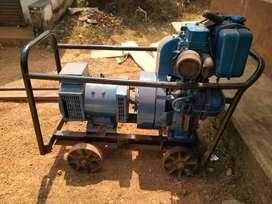 Generator open model 5kva  good condition