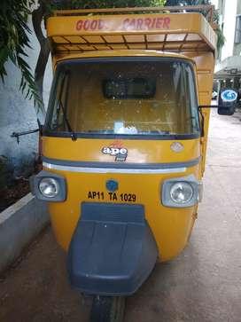 Piaggio goods carriage vehicle