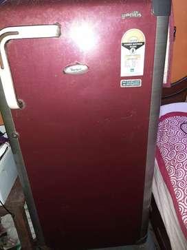 5 star Whirlpool refrigerator sale good condition