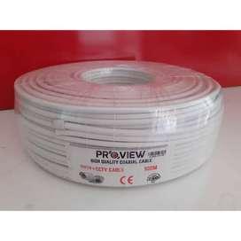 Kabel CCTV RG59+P Proview 100m