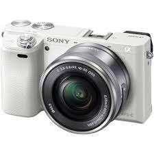 Kredit Cepat Dp 1Jtan SONY A6000L Kit 16-50MM - White