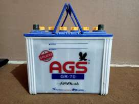 AGS 70 Ampere battery