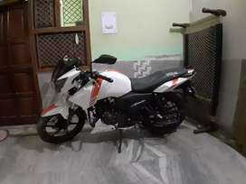 New appache rtr Abs New price 1 lakh 12 hjar