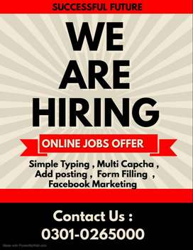 "<""Simply Typing Jobs Are Available in Home based work.."">"