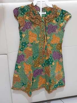 Dress Anak Batik Keris
