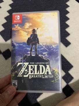 Kaset Nintendo Switch Zelda Breath of The Wild