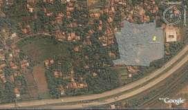 Kavling luas dekat Gerbang Tol  Bintaro cocok utk cluster WD 3126