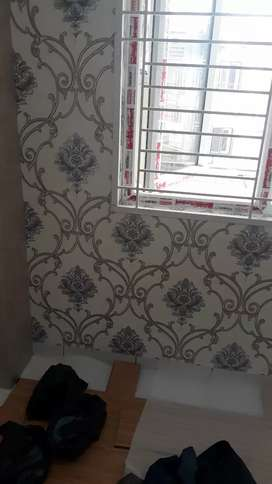 Wallpaper dinding & wallpaper plafon