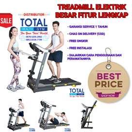 Treadmill Elektrik Besar Fitur Lengkap Murah Harga Distributor