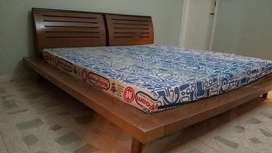 Habitt King Size Bed (Almost NEW). Urgent Sell