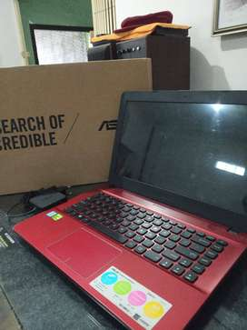 For sale laptop ASUS X441U Red