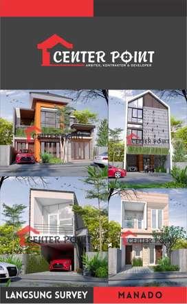 Desain Arsitek Gambar RAB IMB Kontraktor Rumah di Kota Manado