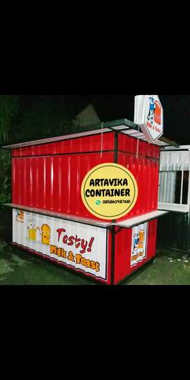 BOOTH SEMI CONTAINER,BOOTH USAHA,BOOTH CUSTOM,BOOTH JUALAN