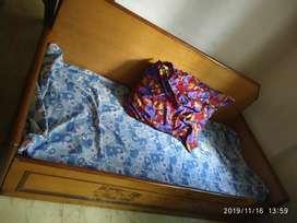 Wodden sofa cum bed