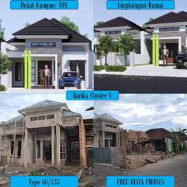 rumah minimalis, rumah mewah minimalis, rumah cluster barika  sukarame