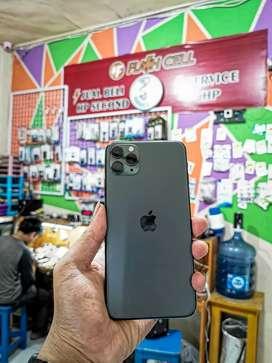 Iphone 11 Pro Max 256 Midnight Green Fullset