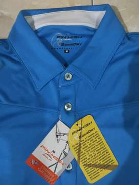 Pin High. Baju golf. orisinil. Baru. M size