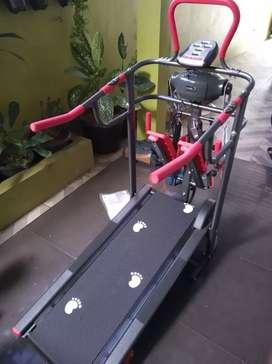 Grees New Treadmill manual 6 fungsi Terlengkap ST-502 A