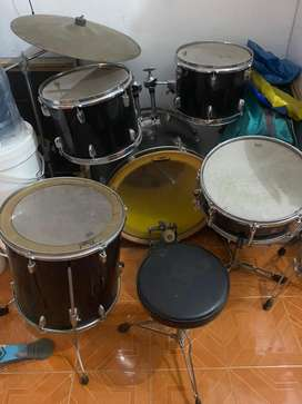 full set drum yamaha