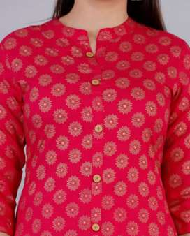 Women's Printed Rayon Kurti super combo free delivery