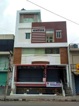 semi furnished shop for rent