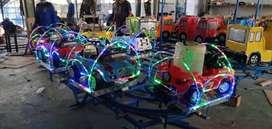 odong odong lampuu led hias tiga warna wahana mainan UL