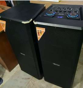 New 2.0 Multimedia Speaker DJ Mic Music System With Warranty