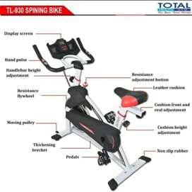 Alat olahraga edisi spinning bike