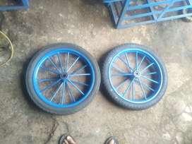 Peralatan roda gerobak