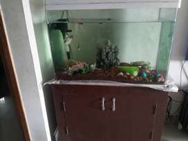 Fish Tank, imported, 4 years old, with filter & Box.