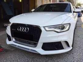 Audi A4 Frunt Bumper Modify