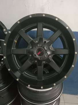 cari velg racing second pajero, fortuner, hilux