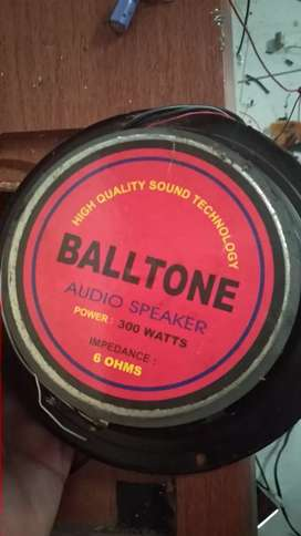 Merk Balltone 300watt 6ohm