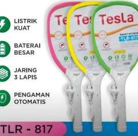 Reket Nyamuk Kabel Cas, Merek Tesla