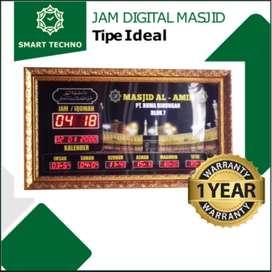 Jual Jam Masjid Digital Ideal Berkualitas Free Desain Kirim Gorontalo