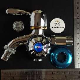 Keran Kran Shower Double / Dobel Mixer Cabang ONDA