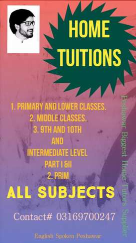 Home tutors in peshawar