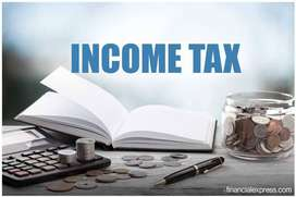 Income tax ,GST,TDS,PF returns