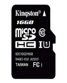 Class 10 Kingston Memory card with warranty and free deliverr