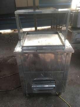 Ice cream rooling tawa machine