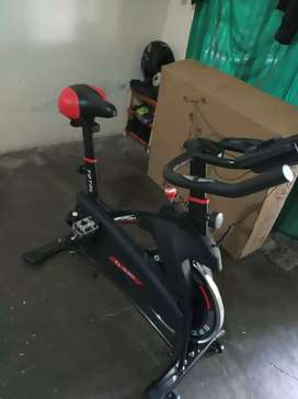 Sepeda balap spin bike (central fitnes) bisa free ongkir