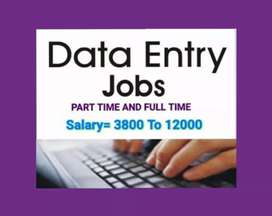 Urgent Requirement in data entry home based and back office