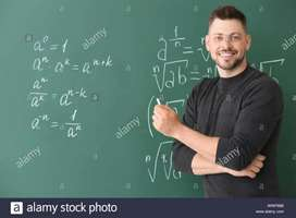 HOME Tuition service for Maths + Science(std. 3rd to 10th)