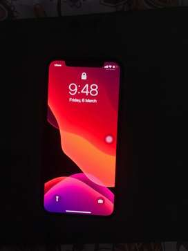 iPhone X 64gb Black.